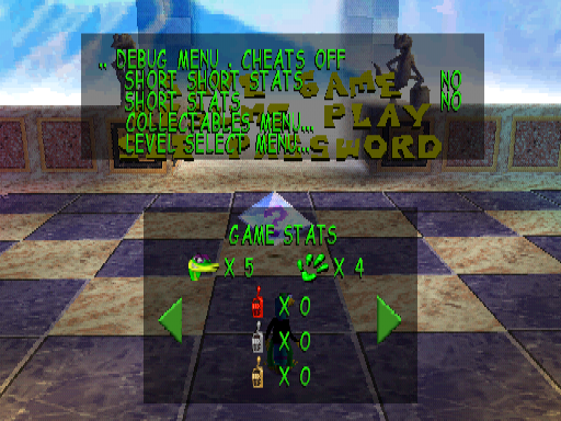 Gex: Enter the Gecko (PlayStation) - The Cutting Room Floor