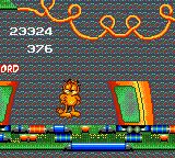 garfield caught in the act game gear games
