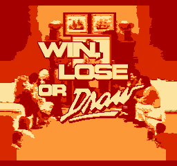 Win Lose Or Draw Nes The Cutting Room Floor