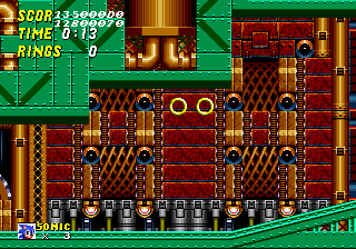 The level design was copied from August 21st prototype to the final version of Sonic 2 so that the objects were placed correctly.