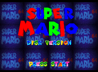 Super Mario 64 (Nintendo 64DD) - The Cutting Room Floor