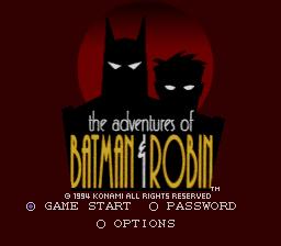 The Adventures Of Batman Robin Snes The Cutting Room Floor