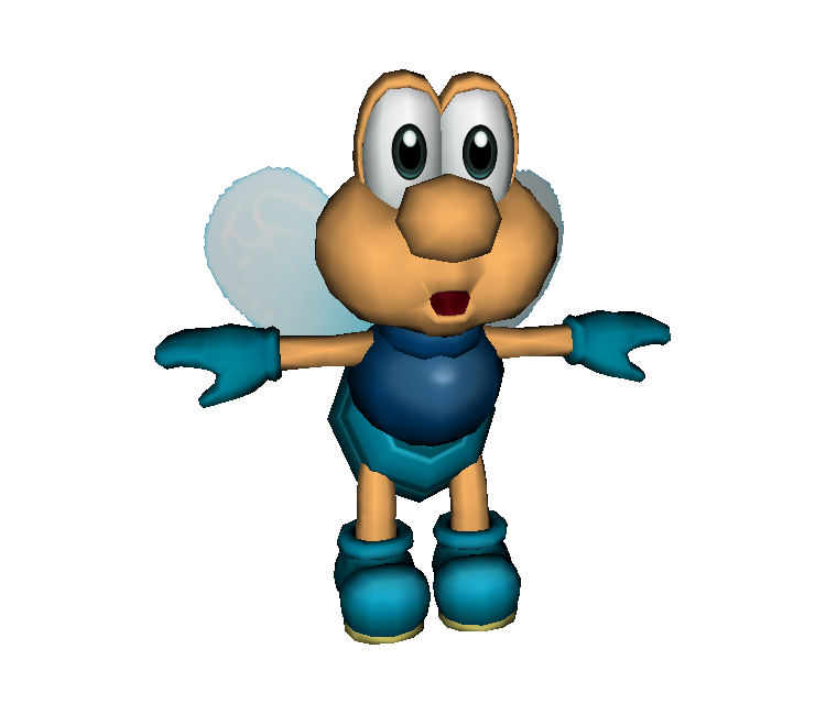 The Fighter Fly A Seldom Used Mario Enemy Shown As A Sprite