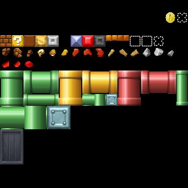 New Super Mario Bros Wii Unused Graphics The Cutting Room Floor