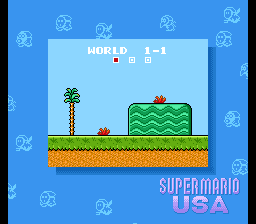 So here we are, what more can I say? Super Mario in the U.S. of A.