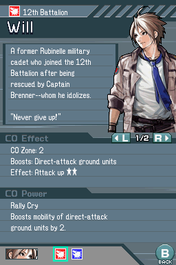 Advance Wars: Days of Ruin - The Cutting Room Floor