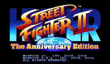 street fighter 2 vs screen