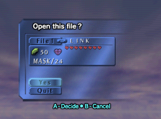 MajorasMask-Title screen savefile1.png