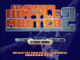 [Análise Retro Game] - Gundam Battle Assault 2 - Playstation One Gundam_Battle_Master_2_Title