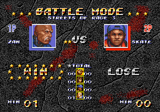 Streets of Rage 3 Battle Mode Result.png