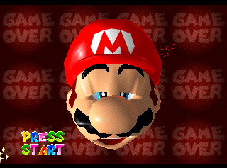 SuperMario64 GameOver.png