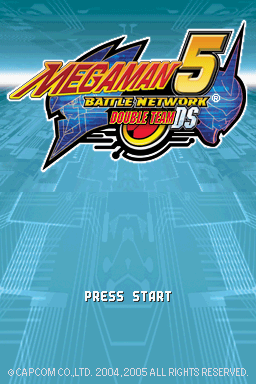 Mega Man Battle Network 5: Double Team DS - The Cutting Room Floor