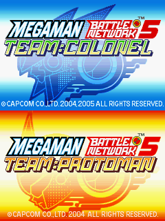 megaman battle network 5 team protoman rom