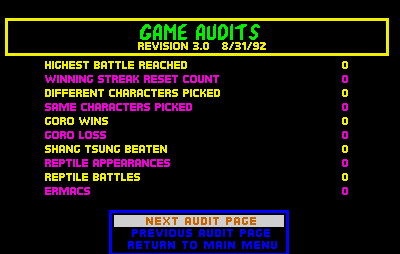 "Oh cool, the audit menu! I must be really lucky to see this. Wait, what's this ""Ermacs"" thing? I think that means to start a rumor!"
