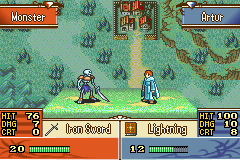 Fire Emblem - The Sacred Stones U Bonewalker Battle.png