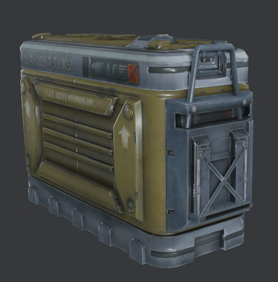 Doom 2016 early weeapn crate render.png