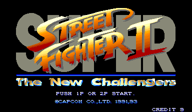 Super Street Fighter Ii The New Challengers Arcade