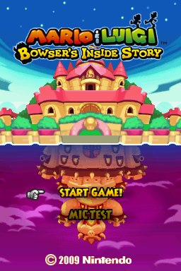 Mario Luigi Bowser S Inside Story The Cutting Room Floor