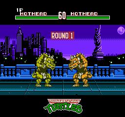 Teenage Mutant Ninja Turtles Tournament Fighters Nes Game