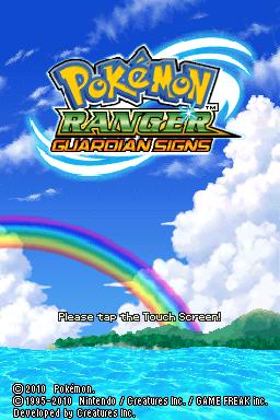 pokemon ranger signs