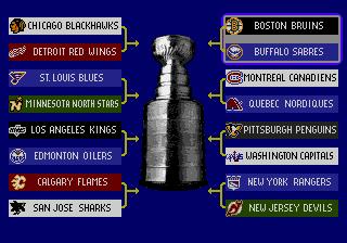 NHL Hockey (Genesis) - The Cutting Room Floor
