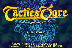 Tactics Ogre: The Knight of Lodis - The Cutting Room Floor