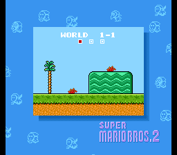 So here we are, what more can I say? Super Mario in the Bros. of 2.