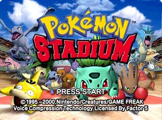 Pokémon Stadium (International) - The Cutting Room Floor