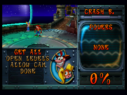 Crash3AlphaDebugMenu1.png