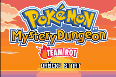 4 I Got My Very First Pokémon Mystery Dungeon Red Rescue Team