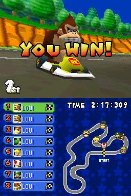 Proto:Mario Kart DS/USA kiosk demo/Early Modes - The Cutting