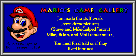 Mario's Game Gallery (Mac OS Classic) - About MGG.png
