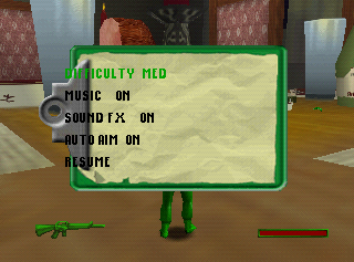 Army Men Sarge's Heroes 2 N64 Cheat Menu2.png