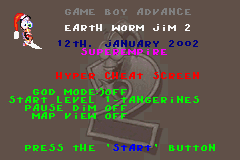 Earthworm Jim 2 GBA debug screen.PNG