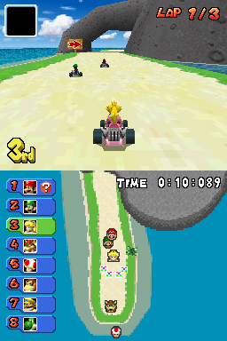 Proto Mario Kart Ds Usa Kiosk Demo Early Courses The Cutting