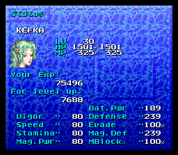Shocking revelation: Terra is Kefka!