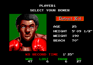 Is that Kid Quick from Punch-Out?