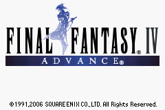 Final Fantasy IV Advance The Cutting Room Floor