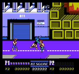Double Dragon Ii The Revenge Nes The Cutting Room Floor