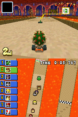 Proto Mario Kart Ds Early Courses The Cutting Room Floor