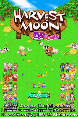 Harvest Moon DS Cute-title.png