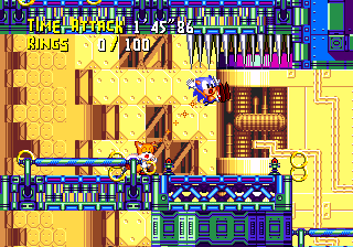 Proto:Knuckles' Chaotix/Sonic Crackers - The Cutting Room Floor