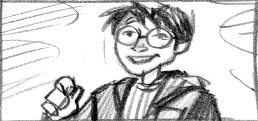 harry potter sorcerer playstation ending sketch 03 png