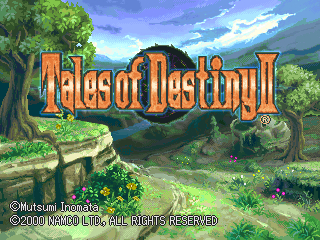 Tales Of Destiny Ii Playstation The Cutting Room Floor
