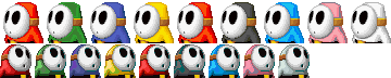 MKDS-Shy Guy Colors.png