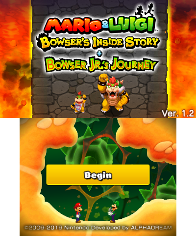 Mario Luigi Bowser S Inside Story Bowser Jr S Journey The