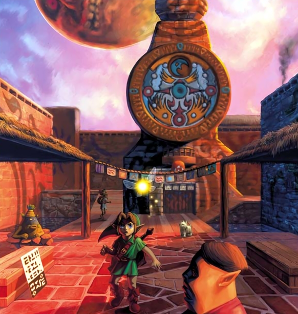Majoras Mask Old Clocktower Concept Art.png
