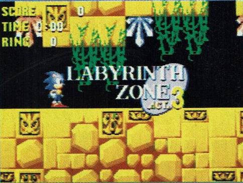 It's probably more fun playing this early level than Sonic Labyrinth.
