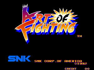 Art Of Fighting Neo Geo The Cutting Room Floor