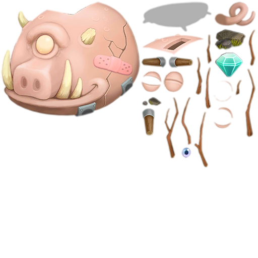 My Singing Monsters Dawn of Fire Piggy Bank.png